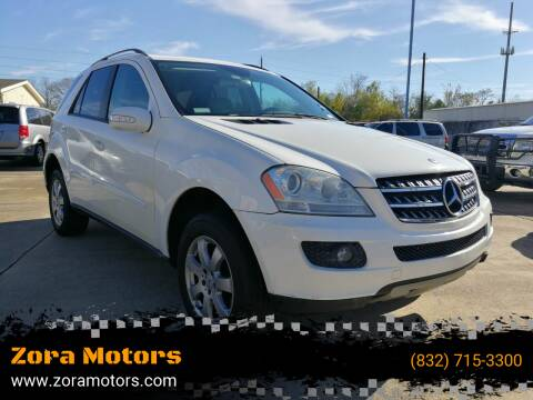 2006 Mercedes-Benz M-Class for sale at Zora Motors in Houston TX