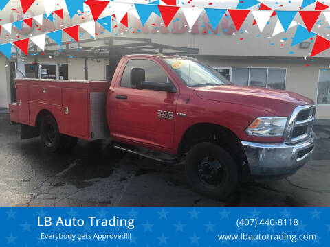2014 RAM Ram Chassis 3500 for sale at LB Auto Trading in Orlando FL