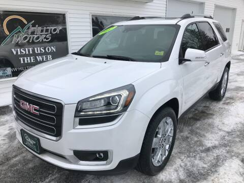 2017 GMC Acadia Limited for sale at HILLTOP MOTORS INC in Caribou ME