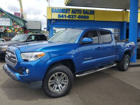 2016 Toyota Tacoma for sale at Earnest Auto Sales in Roseburg OR