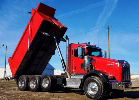2016 Kenworth T800 for sale at A F SALES & SERVICE in Indianapolis IN