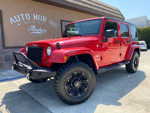 2011 Jeep Wrangler Unlimited for sale at Auto Hub, Inc. in Anaheim CA