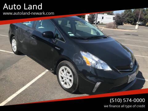 2012 Toyota Prius v for sale at Auto Land in Newark CA