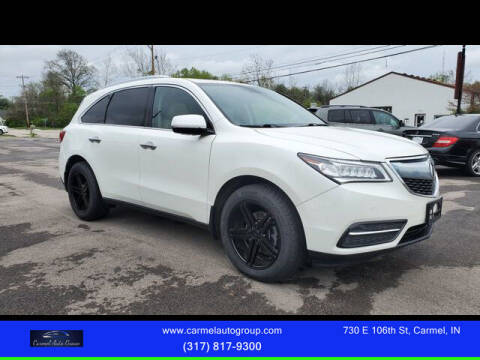 2015 Acura MDX for sale at Carmel Auto Group in Indianapolis IN