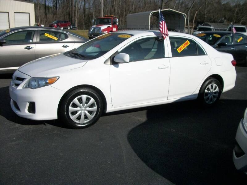 2013 Toyota Corolla for sale at Lentz's Auto Sales in Albemarle NC