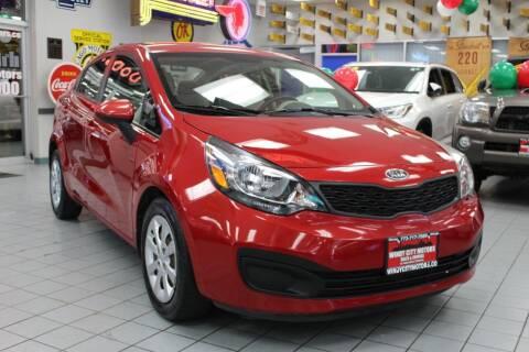 2013 Kia Rio for sale at Windy City Motors in Chicago IL