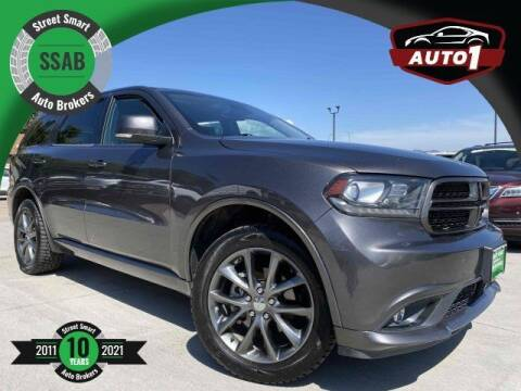 2018 Dodge Durango for sale at Street Smart Auto Brokers in Colorado Springs CO