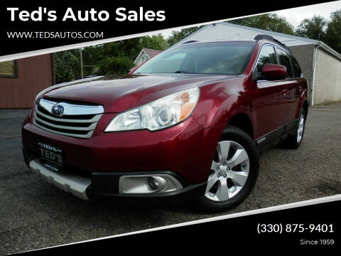 2011 Subaru Outback for sale at Ted's Auto Sales in Louisville OH