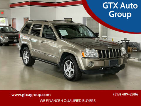 2006 Jeep Grand Cherokee for sale at GTX Auto Group in West Chester OH