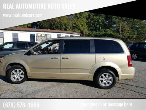 2010 Chrysler Town and Country for sale at REAL AUTOMOTIVE AUTO SALES in Marietta GA