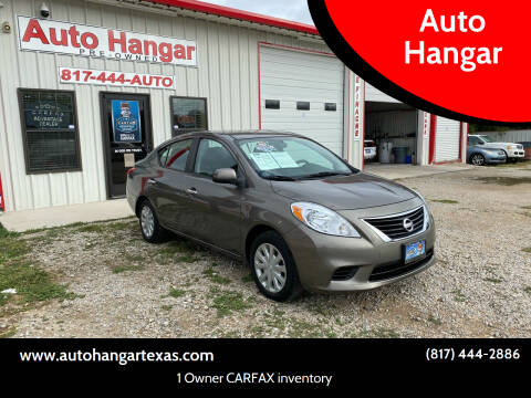 2012 Nissan Versa for sale at Auto Hangar in Azle TX