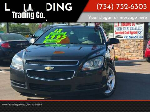 2012 Chevrolet Malibu for sale at L.A. Trading Co. Woodhaven in Woodhaven MI