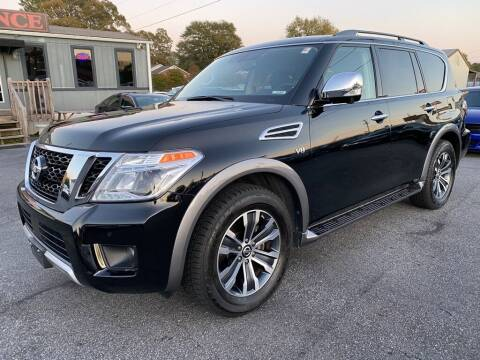 2018 Nissan Armada for sale at Modern Automotive in Boiling Springs SC