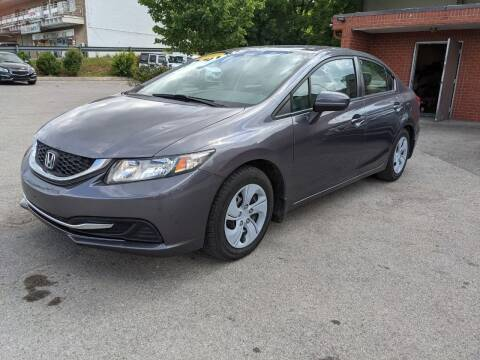 2014 Honda Civic for sale at A & A IMPORTS OF TN in Madison TN