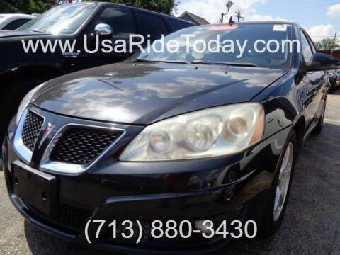 2009 Pontiac G6 for sale at USA Auto Brokers in Houston TX