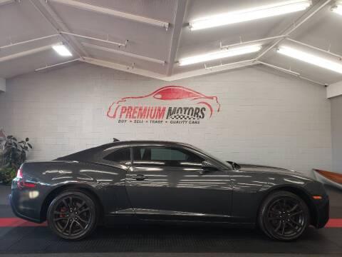 2014 Chevrolet Camaro for sale at Premium Motors in Villa Park IL