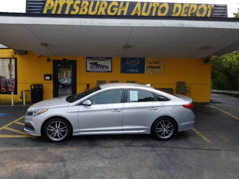 2017 Hyundai Sonata for sale at Pittsburgh Auto Depot in Pittsburgh PA