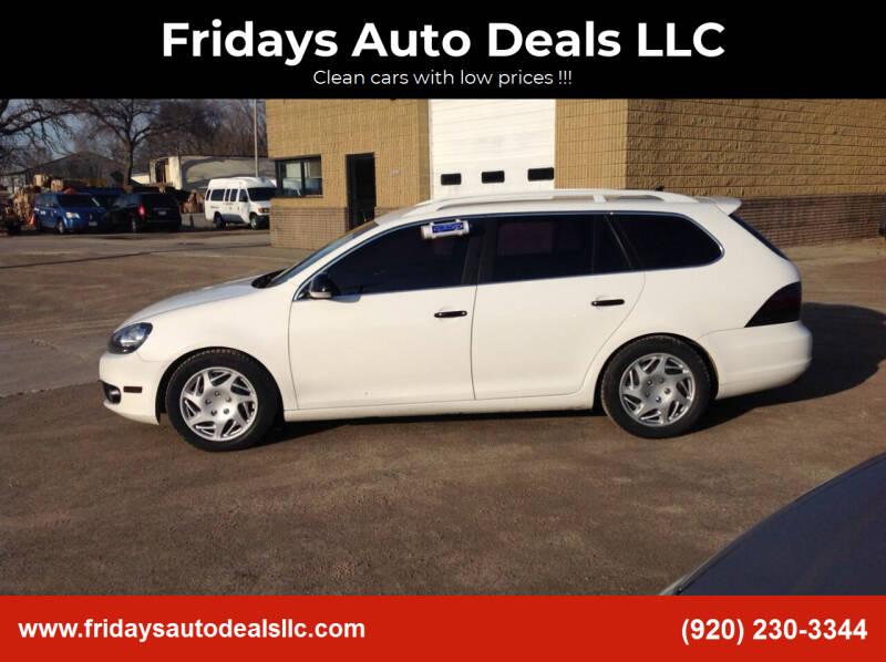 2013 Volkswagen Jetta for sale at Fridays Auto Deals LLC in Oshkosh WI