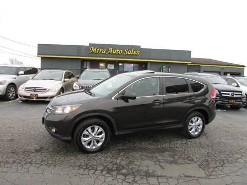 2014 Honda CR-V for sale at MIRA AUTO SALES in Cincinnati OH