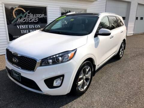 2016 Kia Sorento for sale at HILLTOP MOTORS INC in Caribou ME