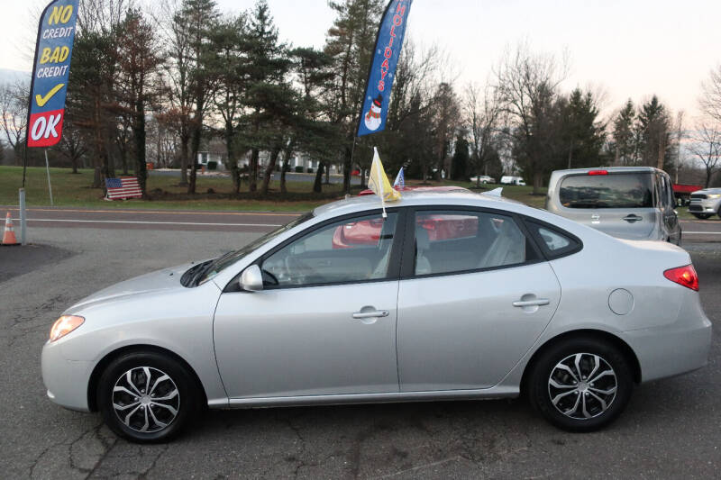 2009 Hyundai Elantra for sale at GEG Automotive in Gilbertsville PA