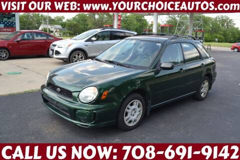 2002 Subaru Impreza for sale at Your Choice Autos - Crestwood in Crestwood IL