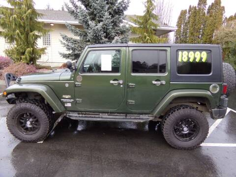 2008 Jeep Wrangler Unlimited for sale at Signature Auto Sales in Bremerton WA