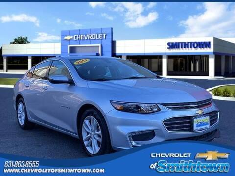 2017 Chevrolet Malibu for sale at CHEVROLET OF SMITHTOWN in Saint James NY