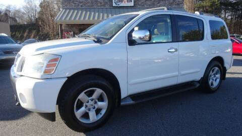 2004 Nissan Armada for sale at Driven Pre-Owned in Lenoir NC
