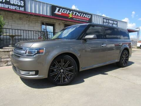2013 Ford Flex for sale at Lightning Motorsports in Grand Prairie TX