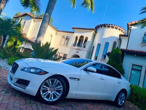 2017 Jaguar XF for sale at Mirabella Motors in Tampa FL