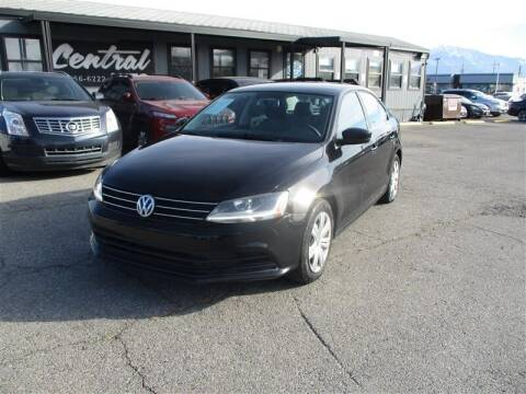 2017 Volkswagen Jetta for sale at Central Auto in South Salt Lake UT