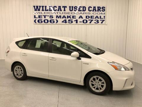 2012 Toyota Prius v for sale at Wildcat Used Cars in Somerset KY