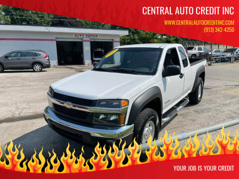 2005 Chevrolet Colorado for sale at Central Auto Credit Inc in Kansas City KS