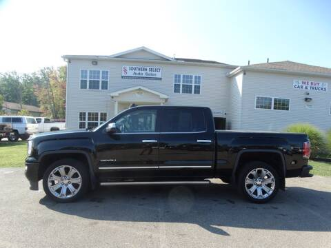 2017 GMC Sierra 1500 for sale at SOUTHERN SELECT AUTO SALES in Medina OH