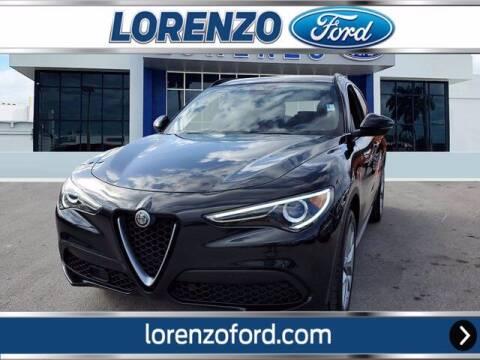 2018 Alfa Romeo Stelvio for sale at Lorenzo Ford in Homestead FL
