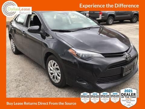 2018 Toyota Corolla for sale at Dallas Auto Finance in Dallas TX