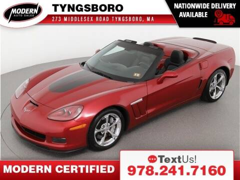 2013 Chevrolet Corvette for sale at Modern Auto Sales in Tyngsboro MA