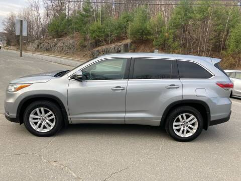 2016 Toyota Highlander for sale at MICHAEL MOTORS in Farmington ME