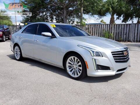 2017 Cadillac CTS for sale at GATOR'S IMPORT SUPERSTORE in Melbourne FL