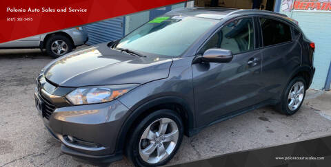 2016 Honda HR-V for sale at Polonia Auto Sales and Service in Hyde Park MA
