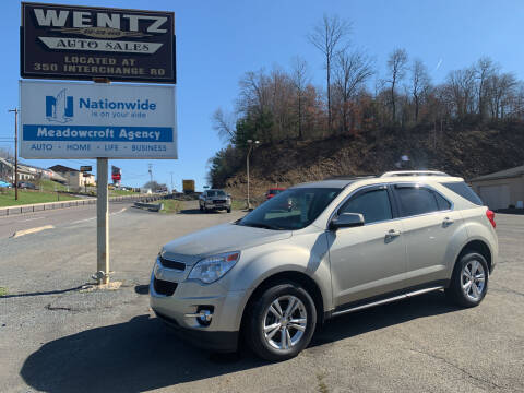 2015 Chevrolet Equinox for sale at WENTZ AUTO SALES in Lehighton PA