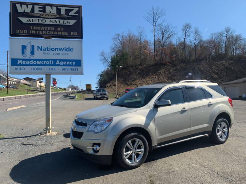 2015 Chevrolet Equinox for sale at WENTZ AUTO SALES in Lehighton PA