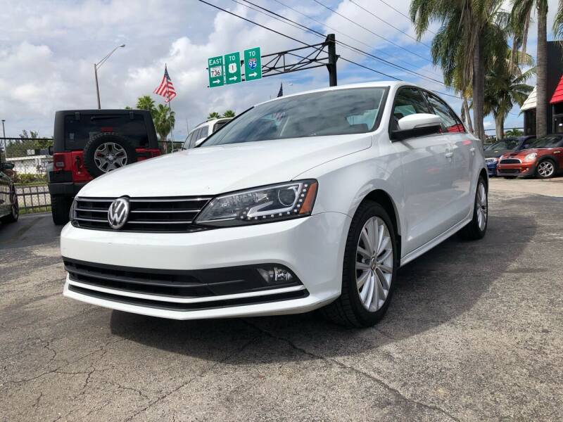 2016 Volkswagen Jetta for sale at Gtr Motors in Fort Lauderdale FL