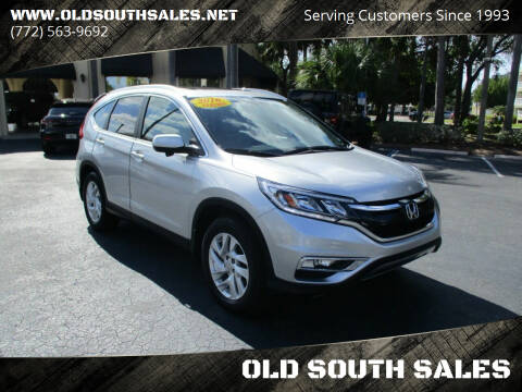 2016 Honda CR-V for sale at OLD SOUTH SALES in Vero Beach FL