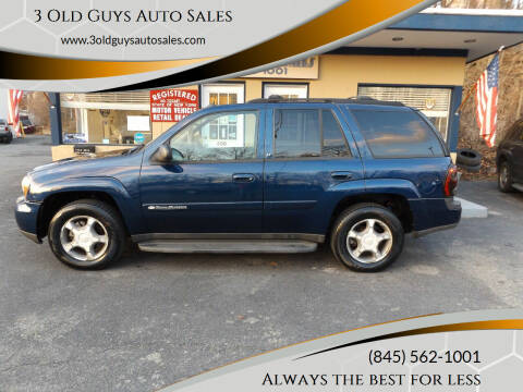 2004 Chevrolet TrailBlazer for sale at 3 Old Guys Auto Sales in Newburgh NY