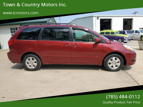 2009 Toyota Sienna for sale at Town & Country Motors Inc. in Meriden KS
