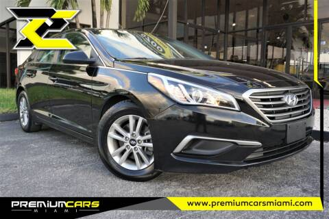 2015 Hyundai Sonata for sale at Premium Cars of Miami in Miami FL
