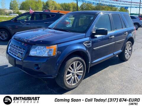 2010 Land Rover LR2 for sale at Enthusiast Autohaus in Sheridan IN