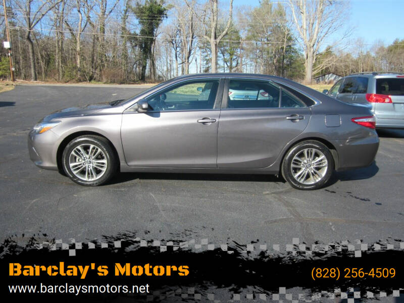 2016 Toyota Camry for sale at Barclay's Motors in Conover NC